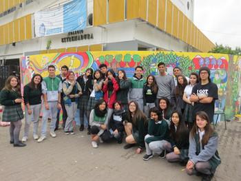 Formación Ciudadana:                              Proyecto Mural  CACE 2017