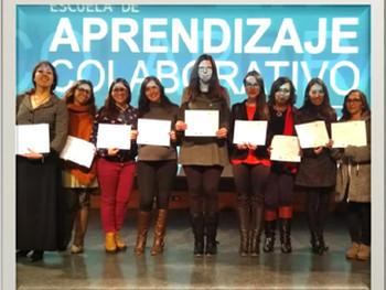 Ceremonia Titulación Diplomado Escuela de Aprendizaje Colaborativo    Profesoras Y Coordinadoras Rec