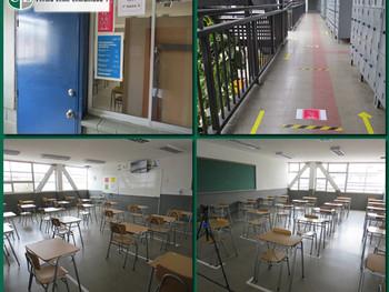 Así ha estado preparado nuestro Colegio para el Retorno Escolar desde Marzo según medidas sanitarias