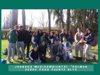 """Formación Ciudadana: """"Creando Un Pulmón Verde Para La Comuna"""""""