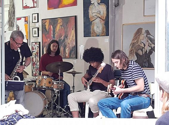 Quartett im RipArt