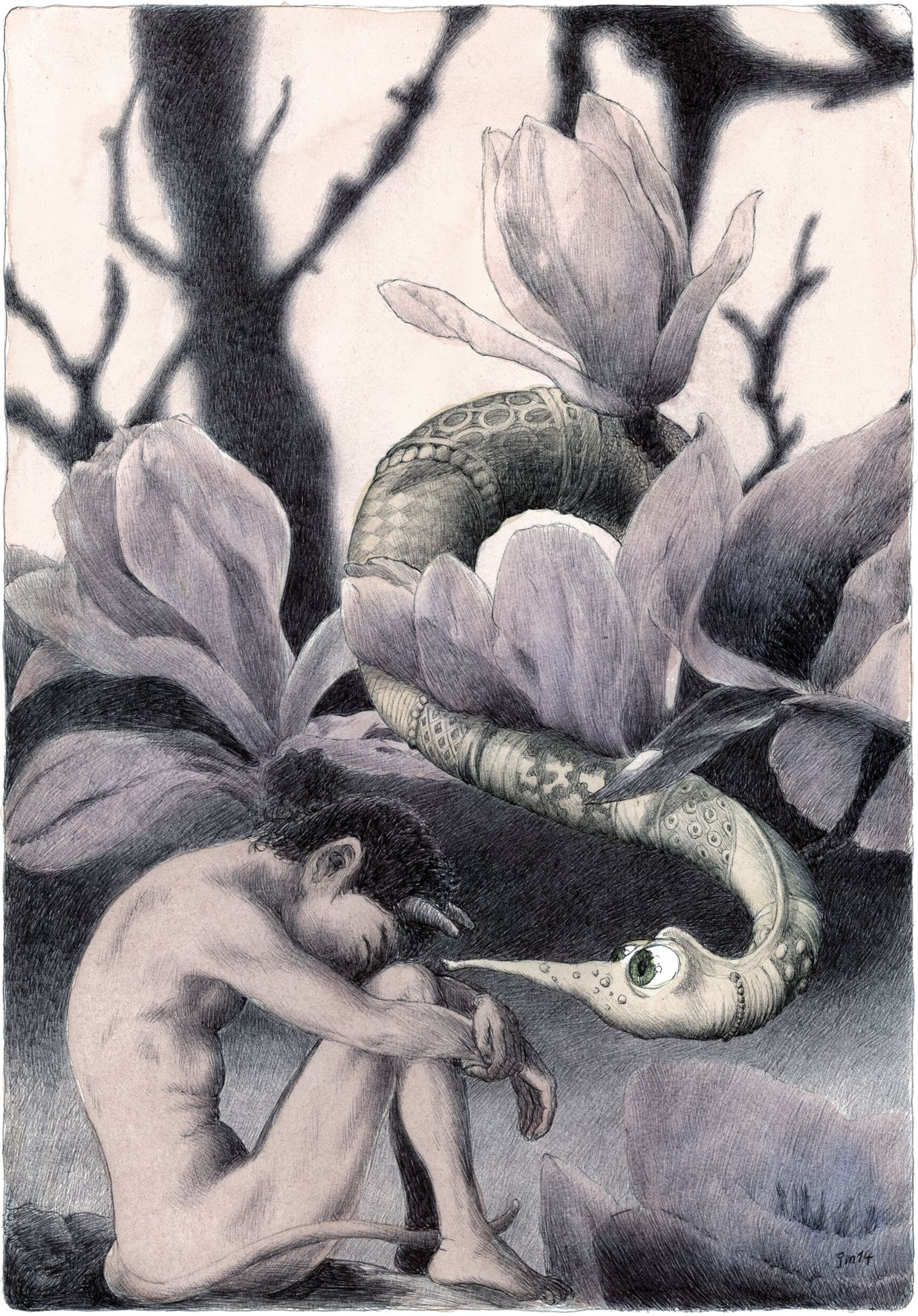 A 04 Magnolien