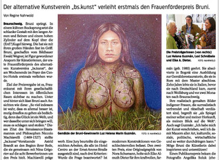 Bruni-Preisverleihung bei bskunst.de