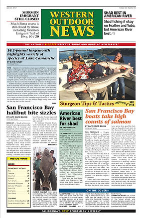 Western Outdoor News Sturgeon