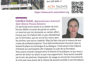 Soft skills : nos clients parlent d'ACT4 TALENTS !