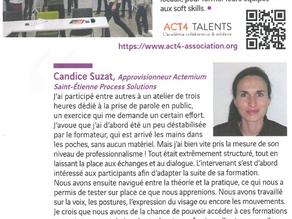 Soft skills : nos clients parlent d'ACT4 TALENTS !