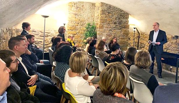 conférence tiers lieu séminaire orangeri