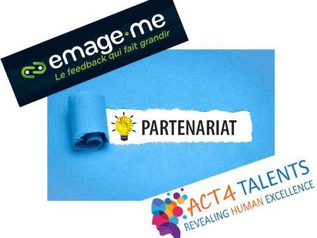 Emage-me, le nouveau partenaire ACT4 TALENTS !
