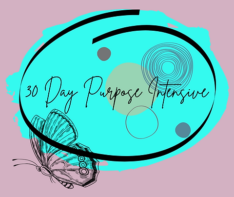 30 Day Purpose Intensive Coaching Package