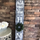 Thumbnail: Personalized Porch Sign, Tall personalized welcome to our home