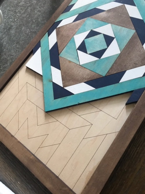 DIY CRAFT KIT | MAKE YOUR OWN WOOD SIGN | BARN QUILT DIY | HOLIDAY GIFT IDEAS