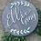 Thumbnail: Custom Round Name Sign - Nursery Sign - Children's Room Decor