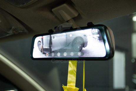 """ตัวกล้องหน้าจอ 2.5D Touch Screen ขนาด 9.66"""" นิ้ว ใช้งานง่าย"""