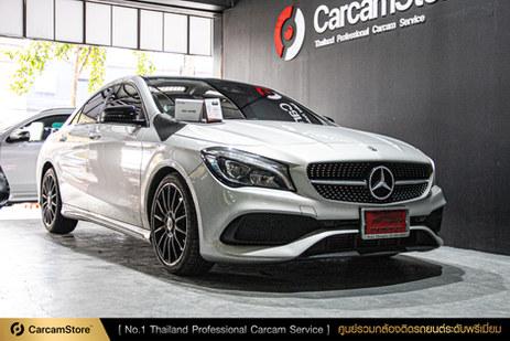 งานติดตั้งระดับมืออาชีพ Blackvue DR900s กับรถ Mercedes Benz CLA250