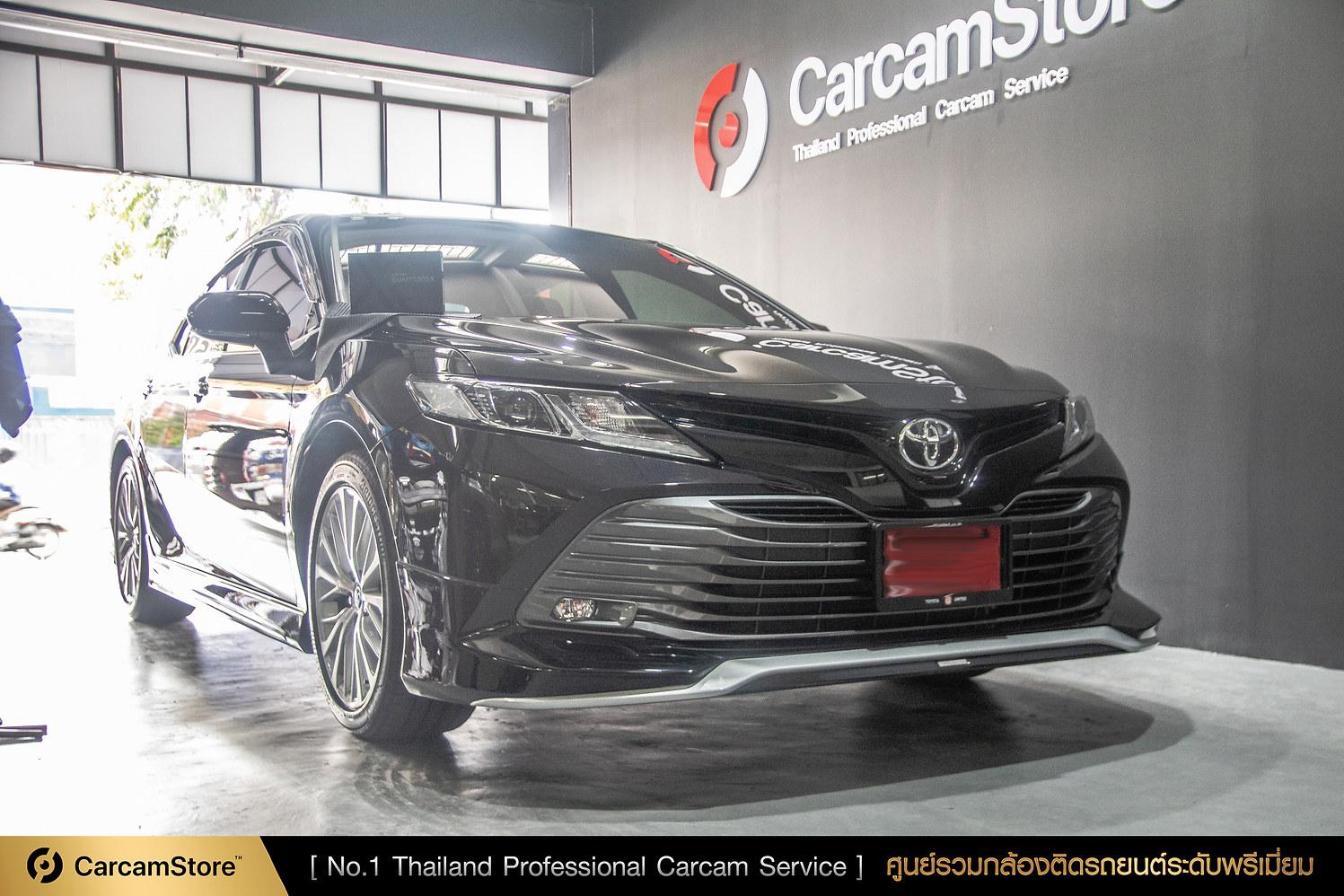 ผลงานติดตั้งระดับมืออาชีพ Thinkware QX800 กับรถ New Toyota Camry