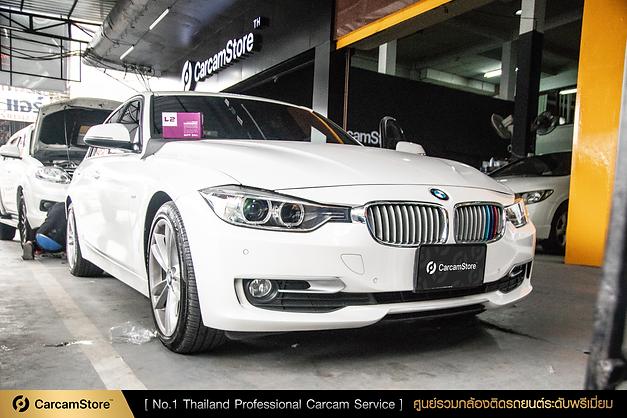 ผลงานติดตั้งระดับมืออาชีพ GNET L2 กับรถ BMW 320d