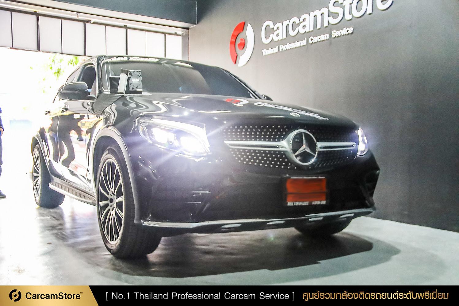งานติดตั้งระดับมืออาชีพ Thinkware Q800 Pro กับรถ Benz GLC 250d