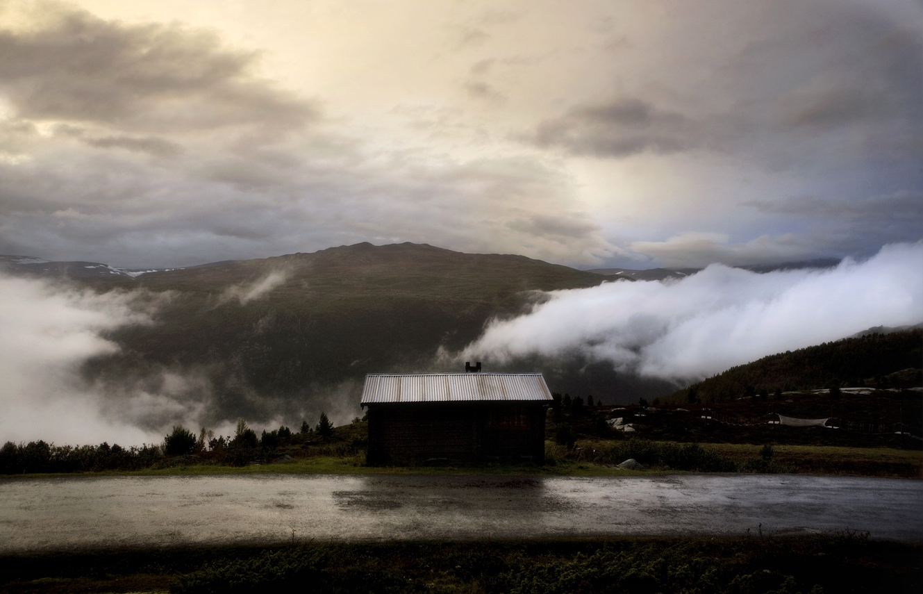 Cabin and Clouds # 33