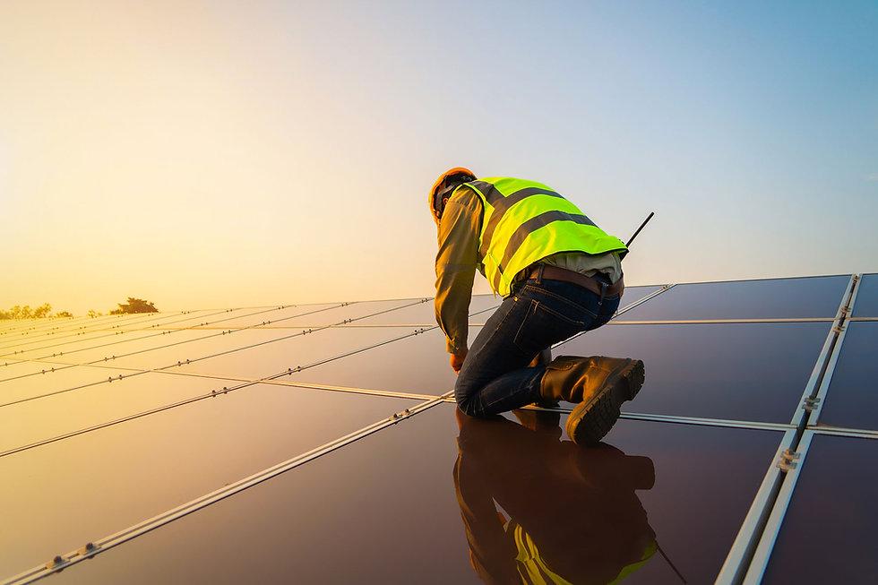 manutenção energia solar