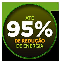 95% redução energia-solar