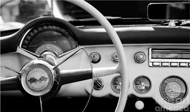 1953 Corvette Cockpit