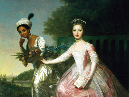 A Story in a Portrait: The Mysterious Painting of Dido Elizabeth Belle Lindsay and Lady Elizabeth Mu
