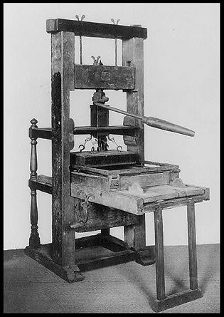 Elizabeth and Her Printing Press: Creating One of the