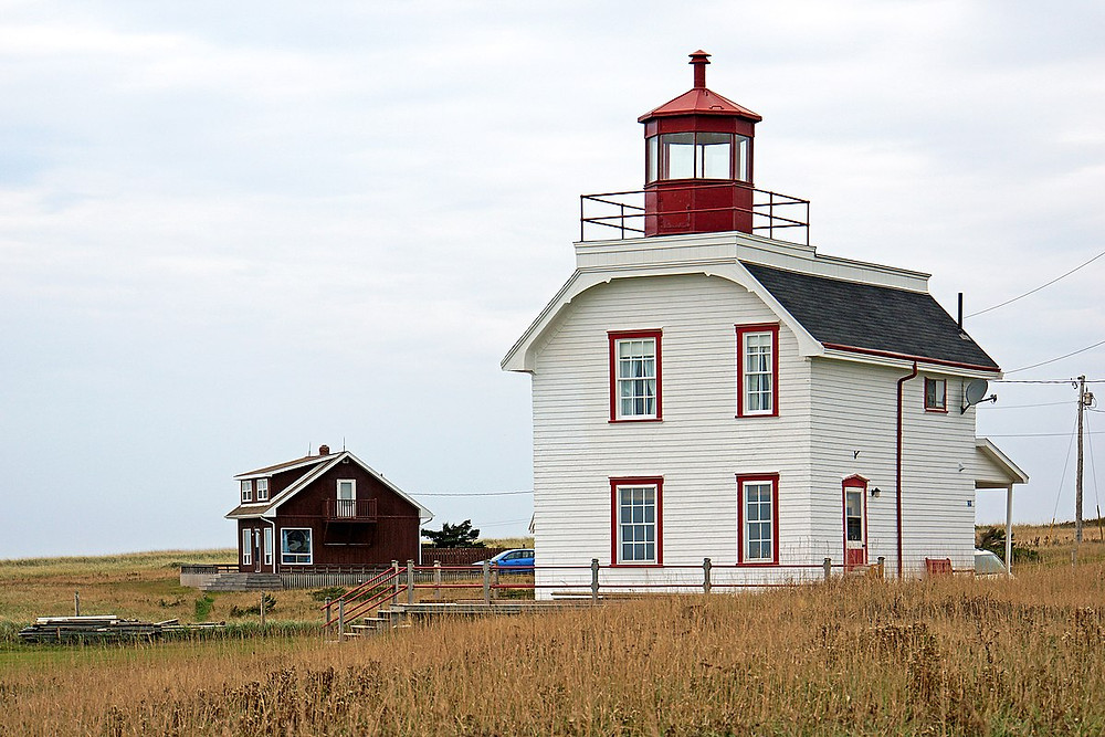 Former Cape Tryon Lighthouse