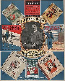 """L. Frank Baum, author of """"The Wonderful Wizard of Oz"""""""