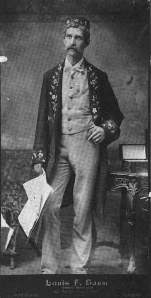 L. Frank Baum as an actor