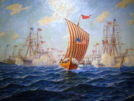 When a Viking Ship Invaded Chicago