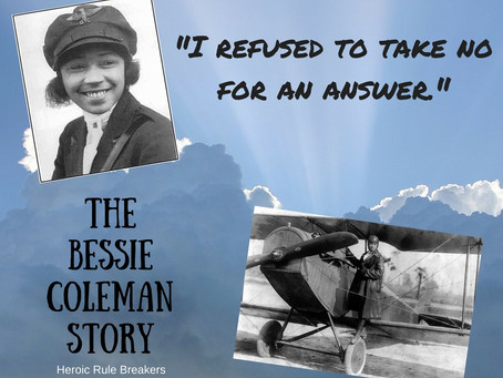 On a Flight of Dreams: The Courageous Story of Aviator Bessie Coleman