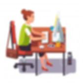 clerk-mujer-trabajando-computadora-escri