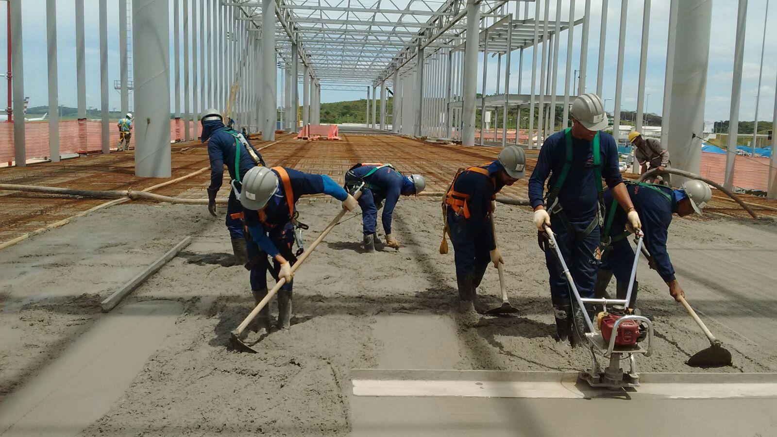 Obras Aeroporto Confins