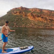 paddle on Horsetooth Reservoir