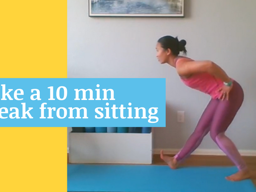 Take a break from sitting: move to improve your health
