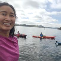 morning paddle on Horsetooth Reservoir