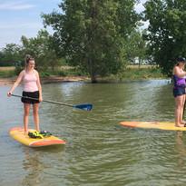 paddle on Boyd Lake
