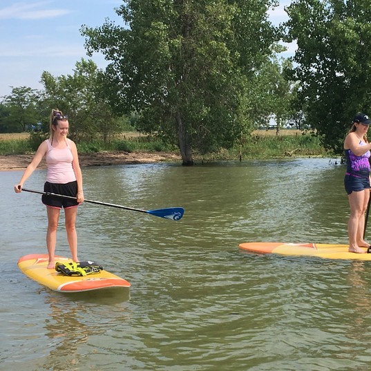 paddle on Boyd Lake