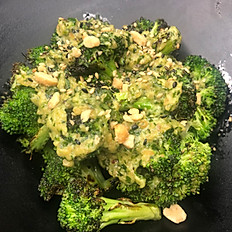 Grilled Pesto Broccoli
