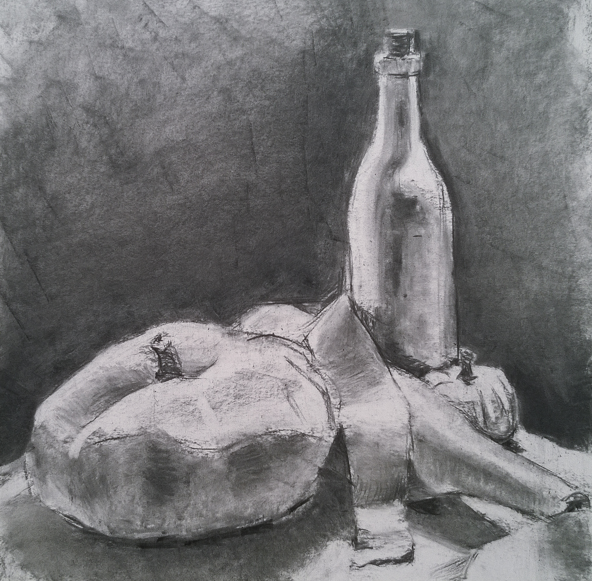 Value Still Life Demo