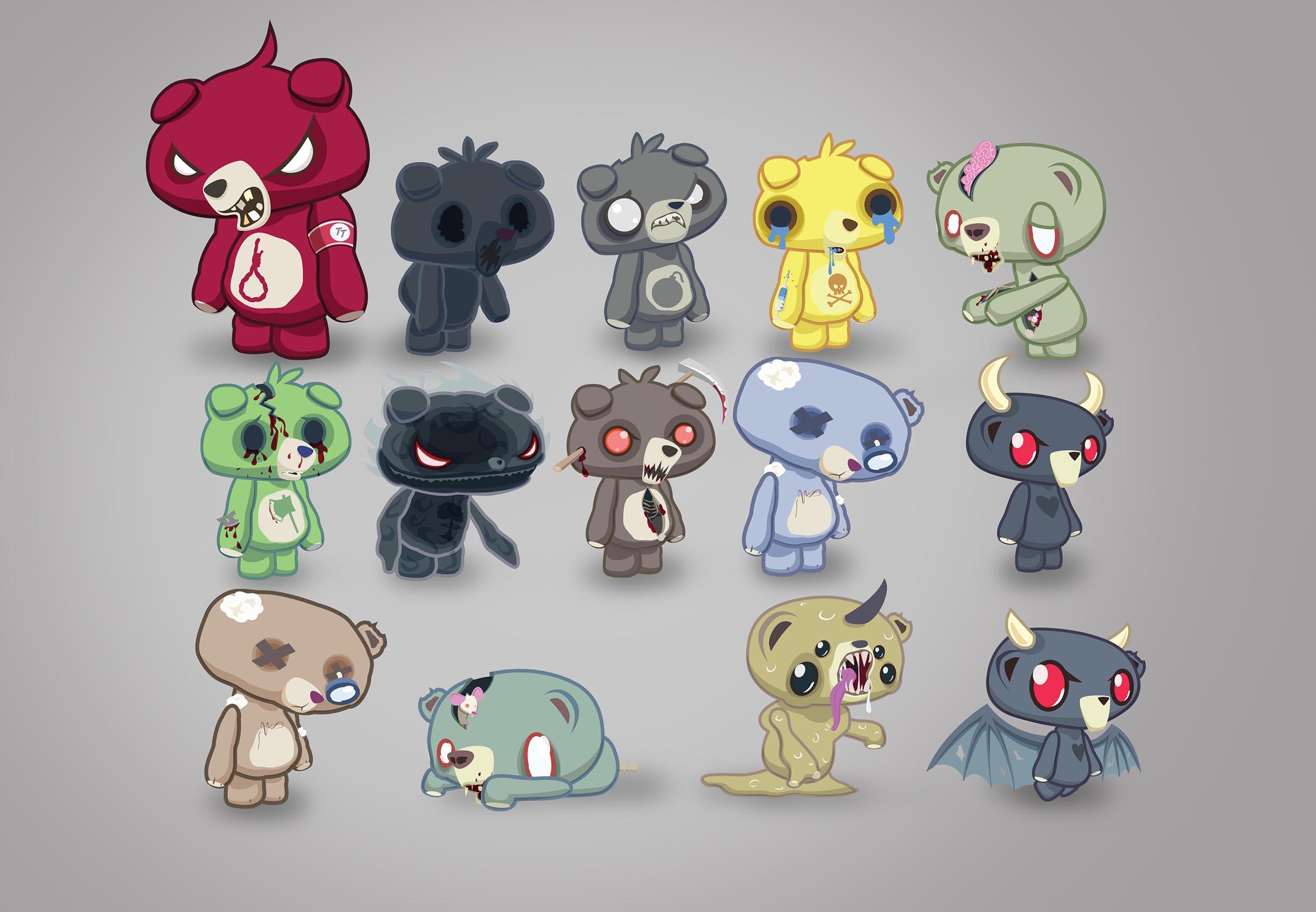 """""""Evil Bear Concepts"""""""