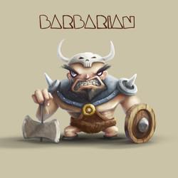 """""""Barbarian Render"""""""
