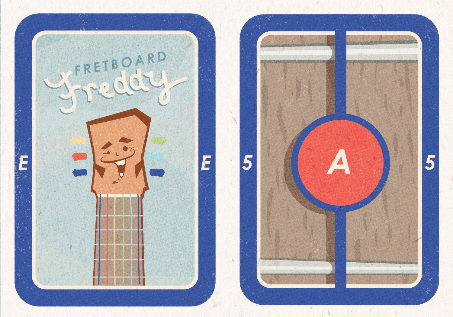 """Fretboard Freddy Cards"""