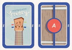 """""""Fretboard Freddy Cards"""""""