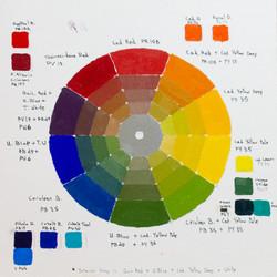Color Wheel - Oil