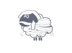 """""""Ancient Sheep Logo Variant"""""""
