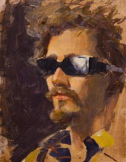 """""""Word"""" (Alla Prima Self Portrait)"""