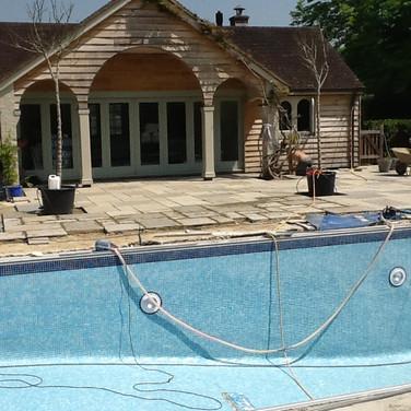 Pool in need pf total refurbishment