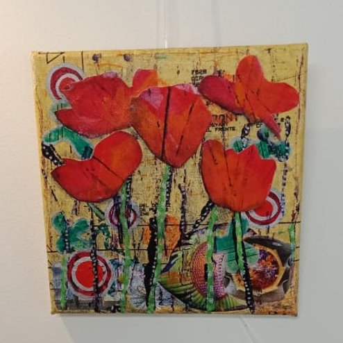 Poppies 3 (small canvas)